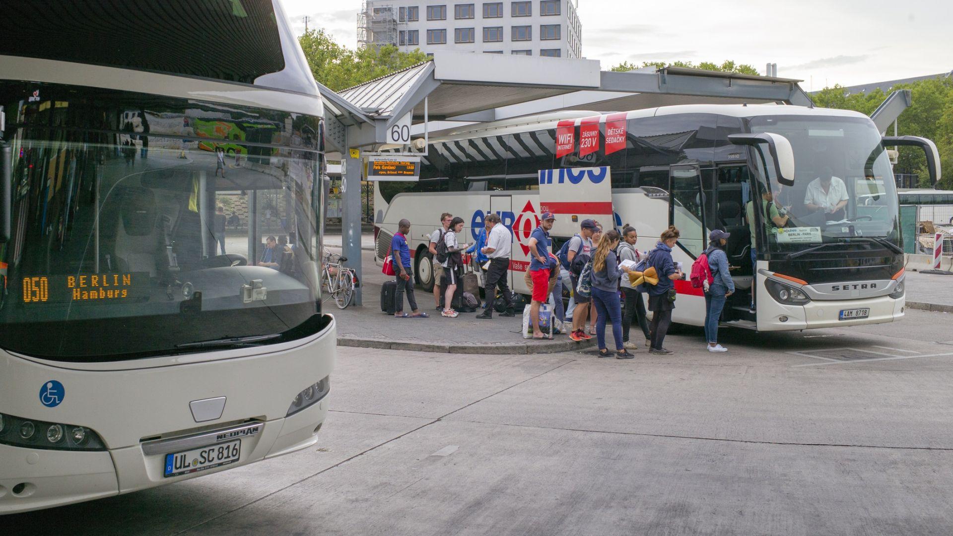 Германски концерн придоби френската автобусна компания Евролайнс