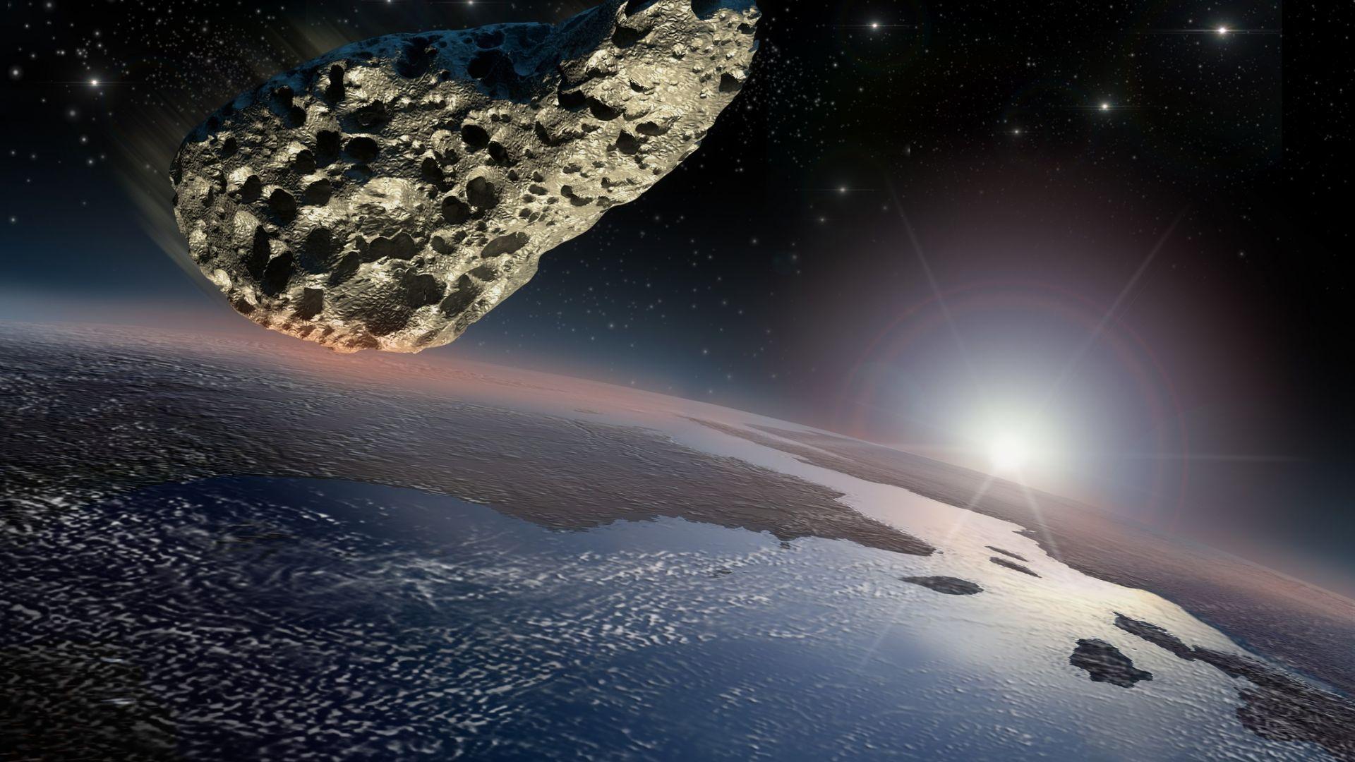 Голям астероид ще премине на 30 000 километра от Земята след 10 години