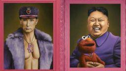 """Карикатури на известни политици """"през приказно розови очила"""""""
