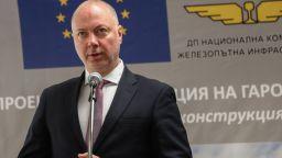 Министър Желязков: Товарният ЖП транспорт е с близо 17 % ръст по време на кризата