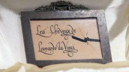 Кичур от косата на Леонардо да Винчи беше изложен за първи път в Италия