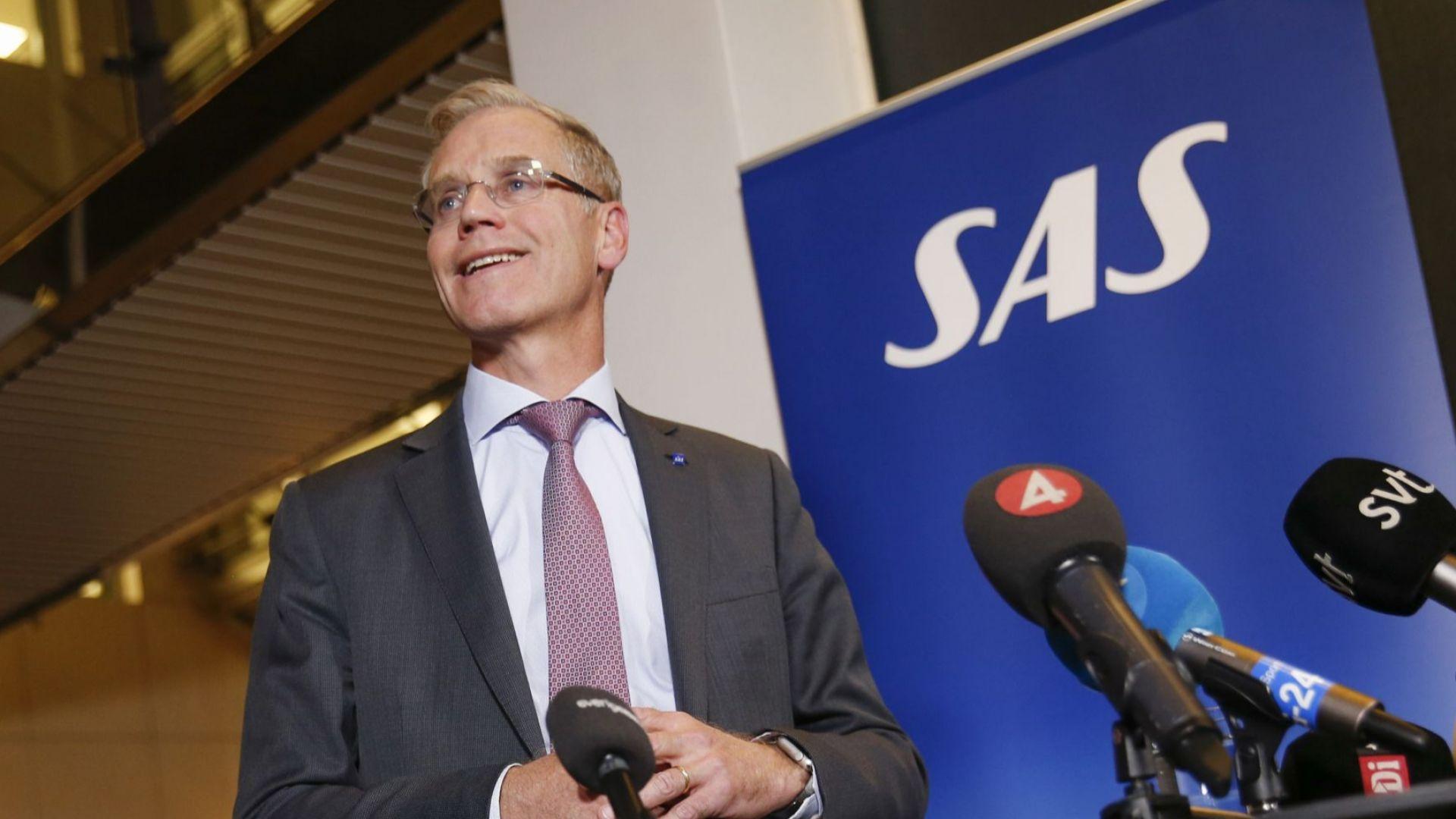 САС загубила 68 млн. долара от стачката на пилотите