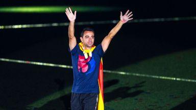 Шави иска да стане треньор на Барселона