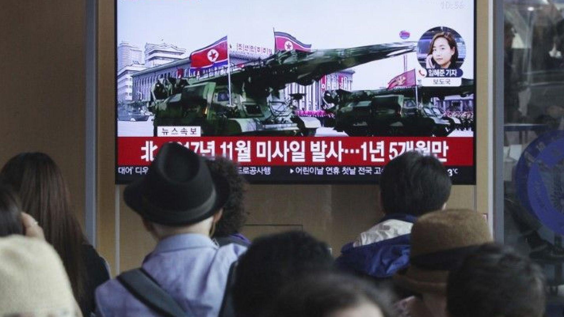 """Северна Корея потвърди провеждането на """"многостранни ударни учения"""""""