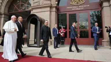 Президентът Радев изпрати писмо на папа Франциск