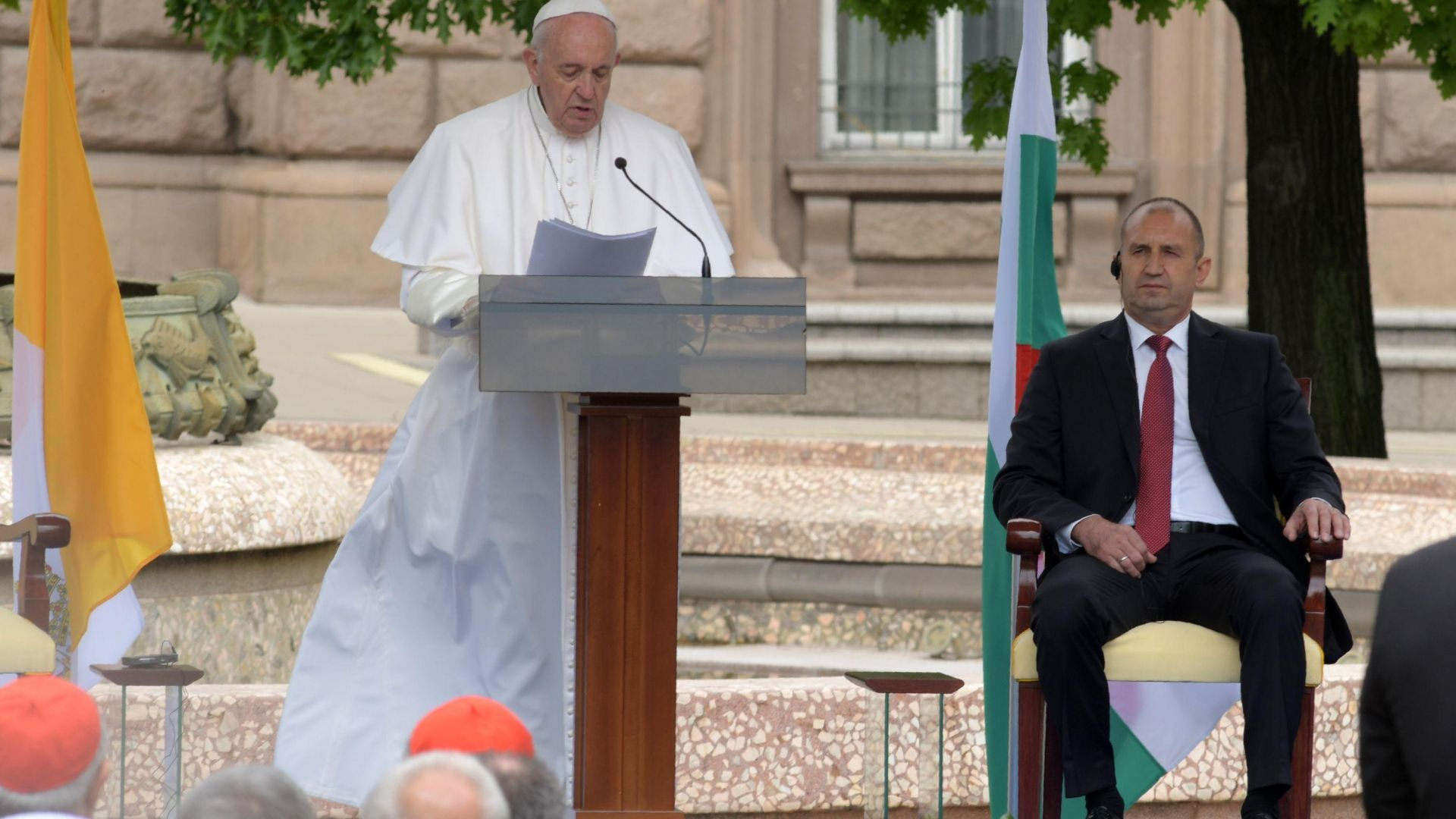 Словото на Франциск: За тоталитаризма, емиграцията и тези, които чукат на портите