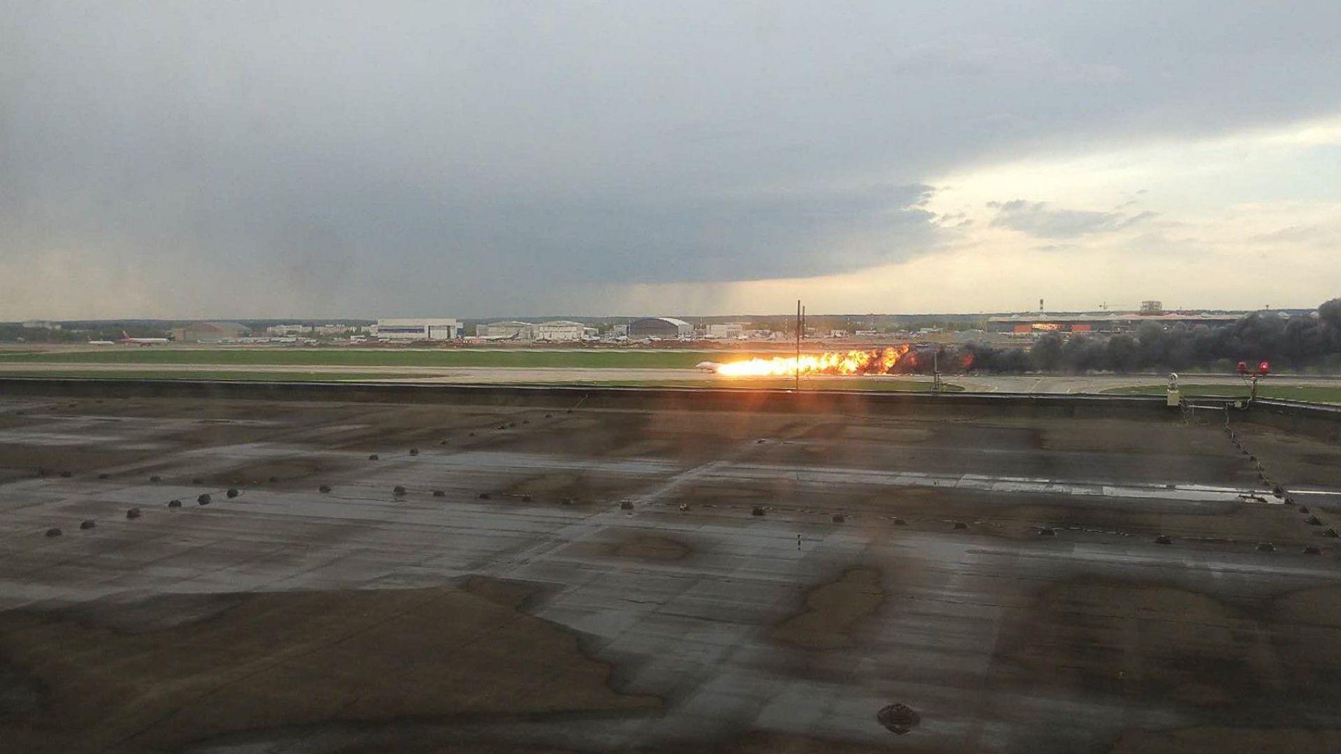 Пасажерите в задната част на самолета не са имали шанс за спасение