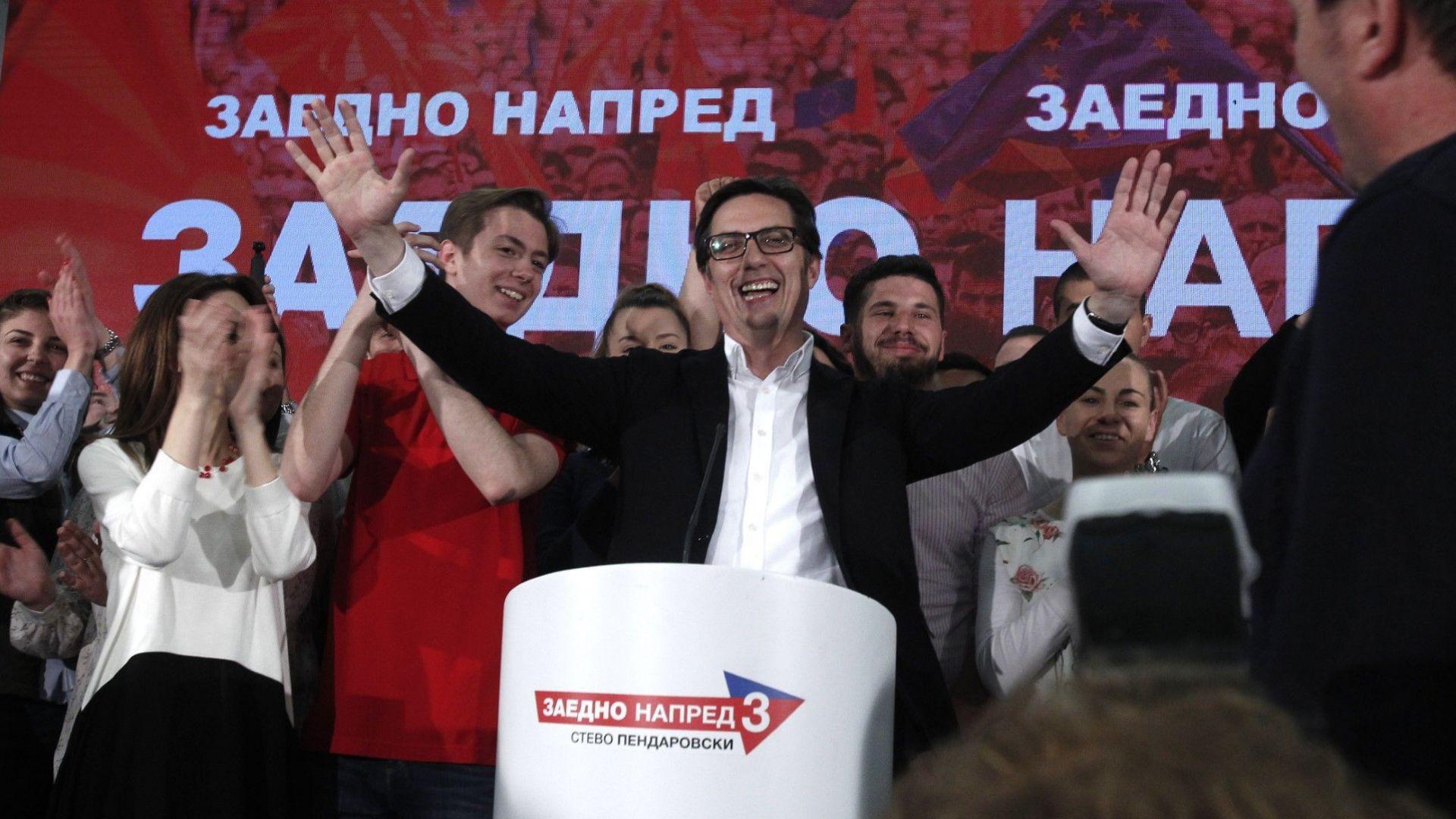 Новият президент на Северна Македония Стево Пендаровски: Напред към НАТО и ЕС