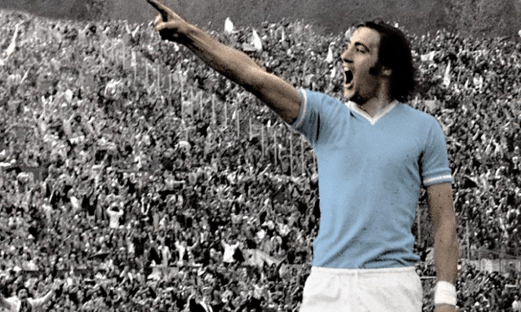 """Джорджо Киналя - епохална фигура за Лацио, която остава в сърцата на феновете до смъртта им. Нападателят, който почина през 2012-а, донесе първата титла на """"орлите"""" през 1974-а, когато стана и голмайстор №1 на първенството."""