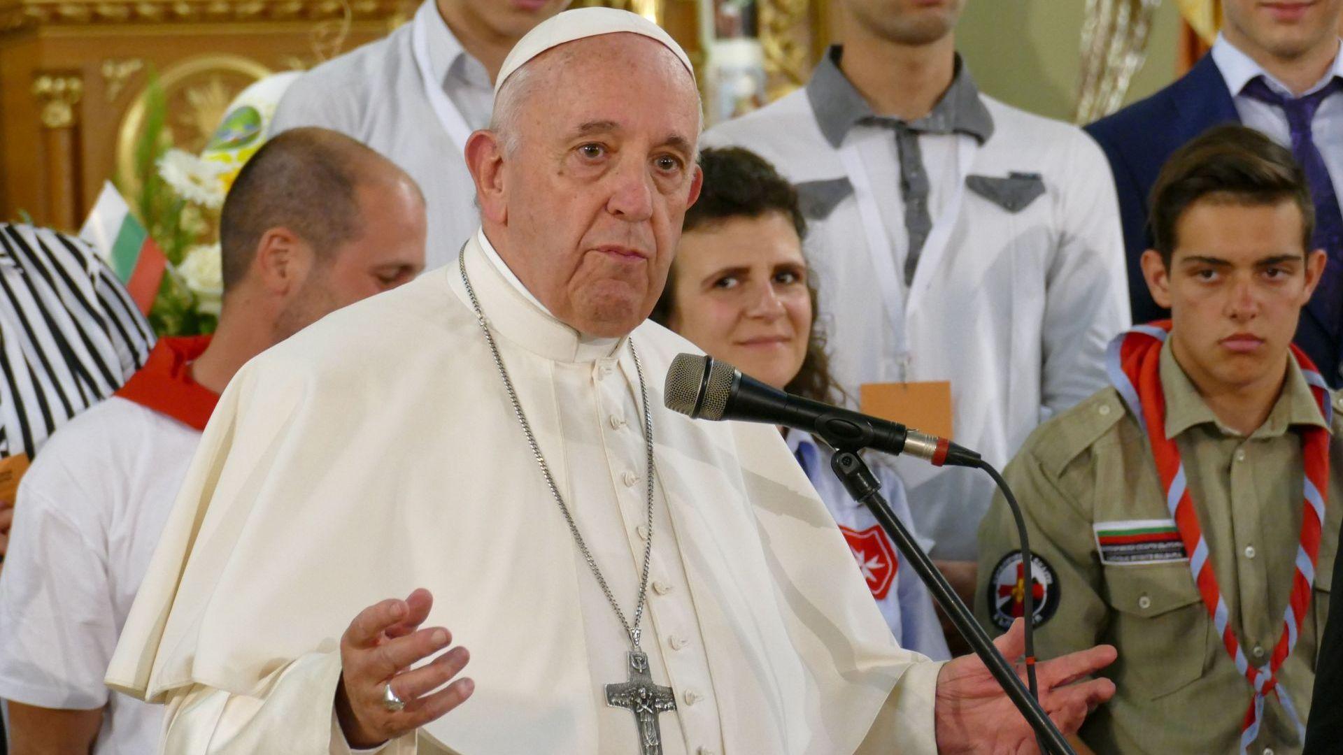 За първи път Папа Франциск назначава помощен епископ с постоянно седалище в София