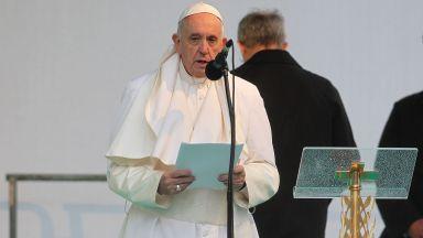 Папата с послание от София: Направи ме инструмент на твоя мир!