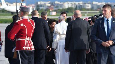 НСО благодари на гражданите и на медиите за успешното посещение на папата
