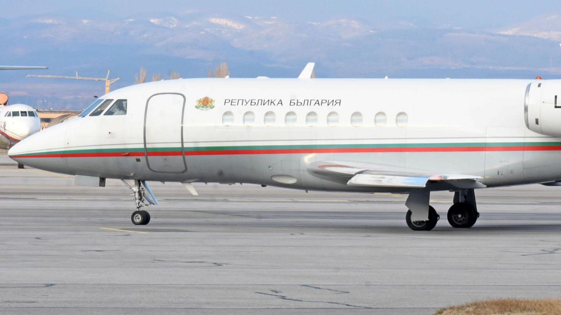 Правителството реши да купи нов самолет след инцидента с Бойко Борисов
