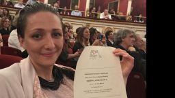 """Мартина Апостолова с награда в Италия за ролята си в """"Ирина"""""""
