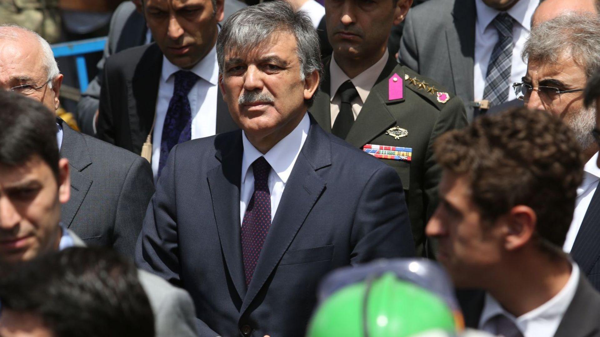 Бившият президент на Турция Абдуллах Гюл разкритикува решението на Висшата