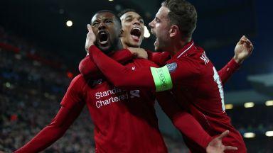 """""""Анфийлд"""" изживя най-великия обрат в историята на Шампионска лига!"""