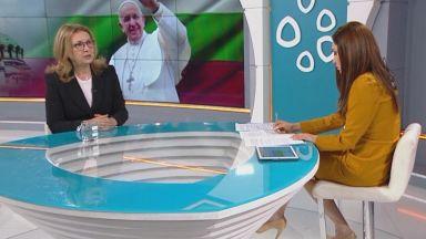 Бъчварова за папата и БПЦ: Канонът не може да е над желанията на гражданите