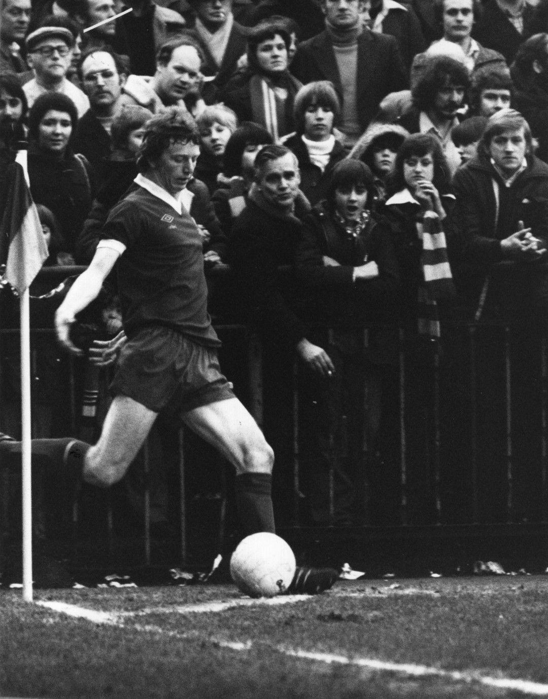 """1977 г., Дейвид Феърклъф става символно име - късни голове пред """"Коп"""" са асоциирани винаги с неговото попадение срещу Сент Етиен"""