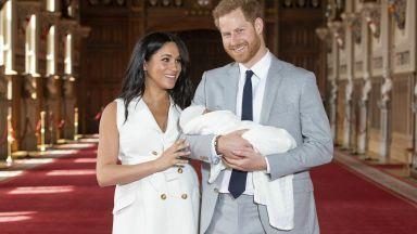 Хари и Меган показаха новородения си син (снимки+видео)