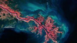 Невероятни фотографии на Земята от орбитални станции