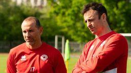 Бербатов и Мартин Петров тренираха с ЦСКА 1948