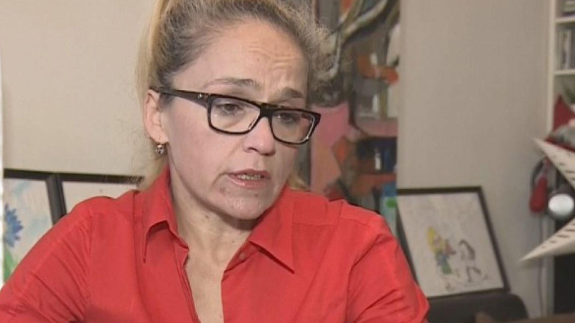 Иванчева излезе от домашния арест, срещна се с журналисти