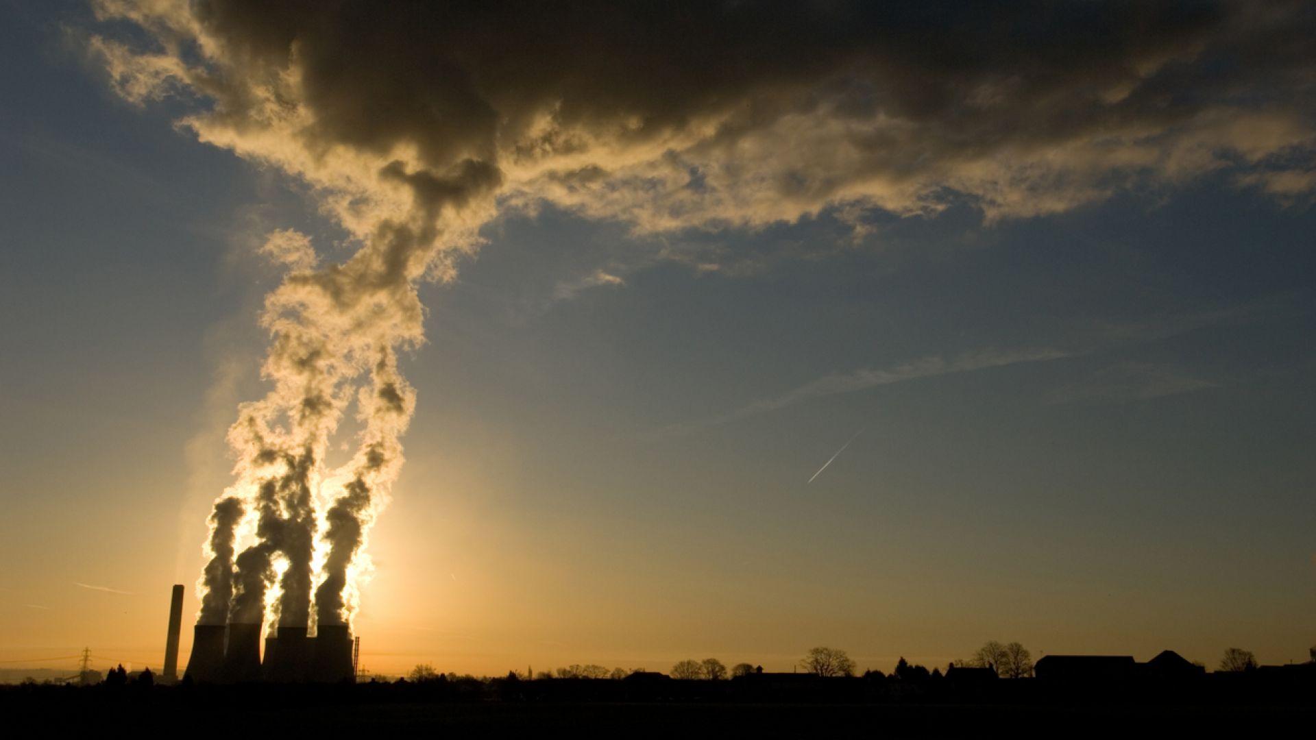 Китайските парникови емисии са скочили с 10 на сто