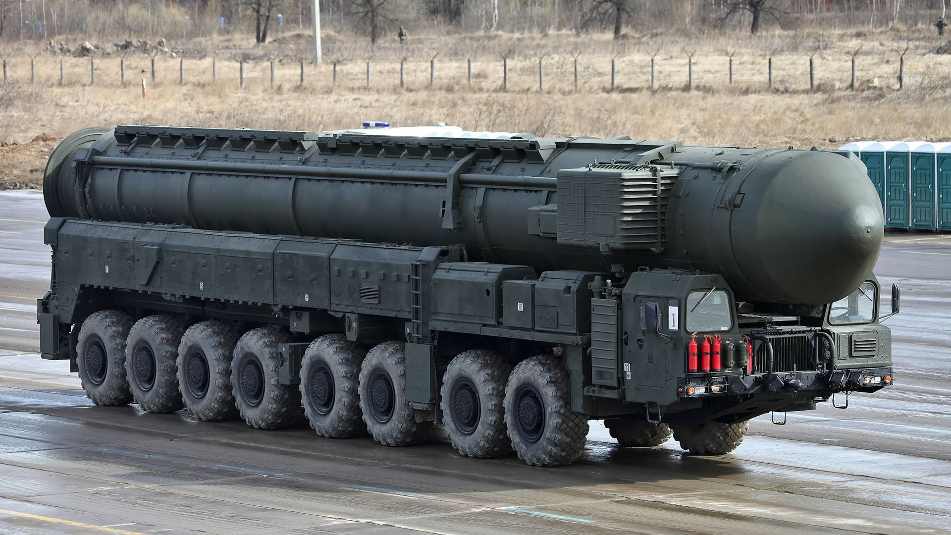 Русия отбеляза 60-годишнината на ракетните си сили с видео