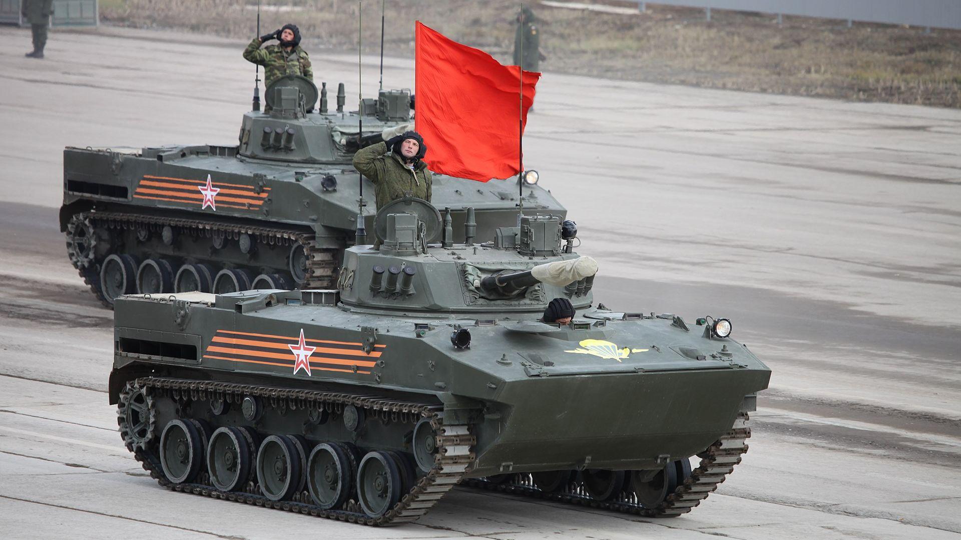 """Руската бронетехника """"се цели"""" към по-мощен калибър?"""