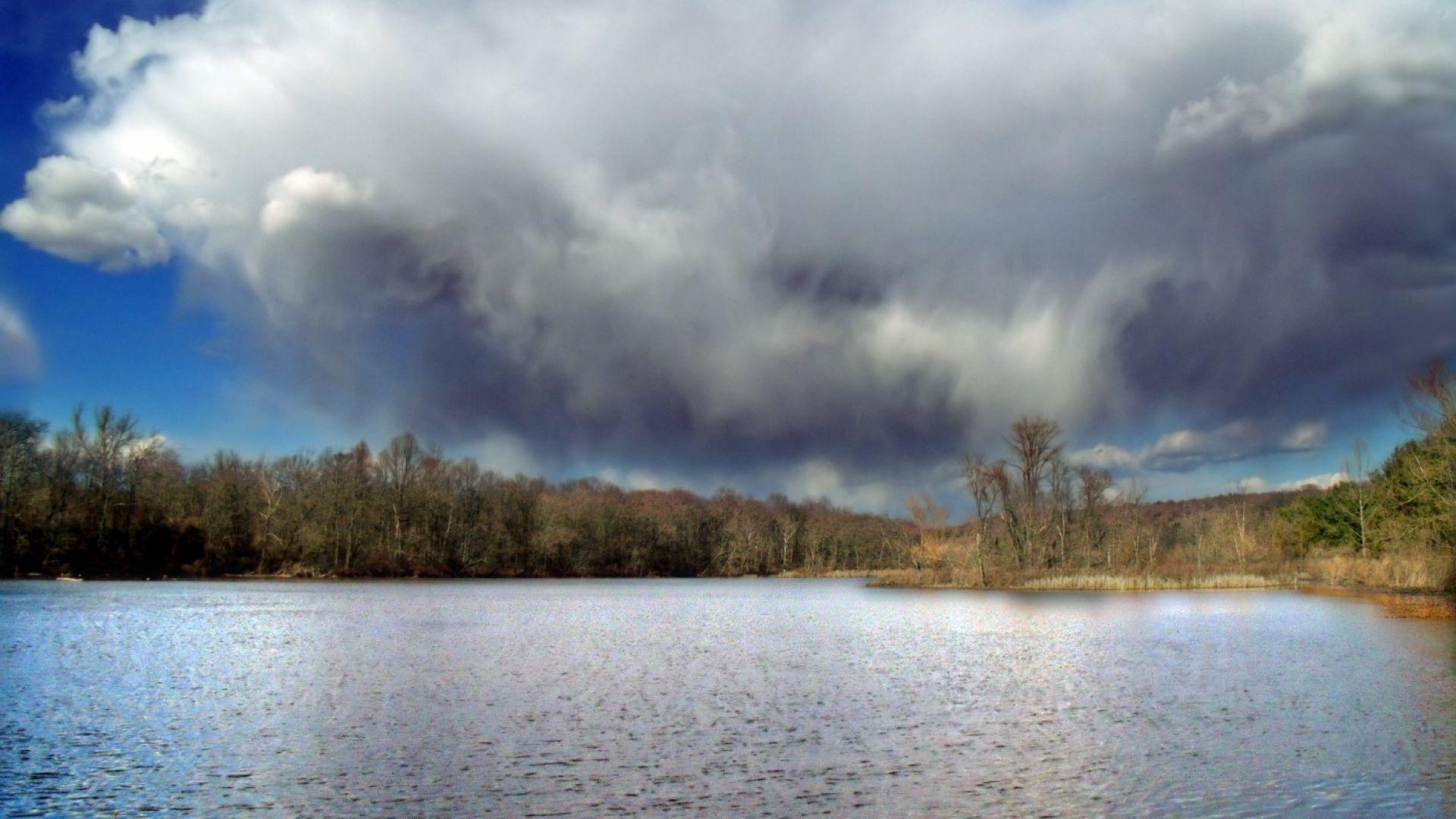 Буреносен облак постави рекорд  за най-ниска  температура
