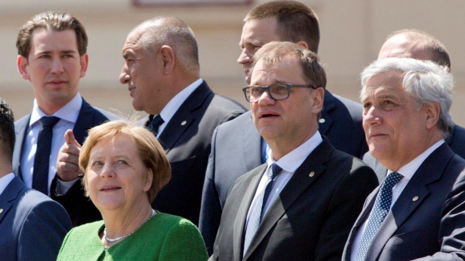 Борисов цитира папа Франциск пред евролидерите: Мир на Земята
