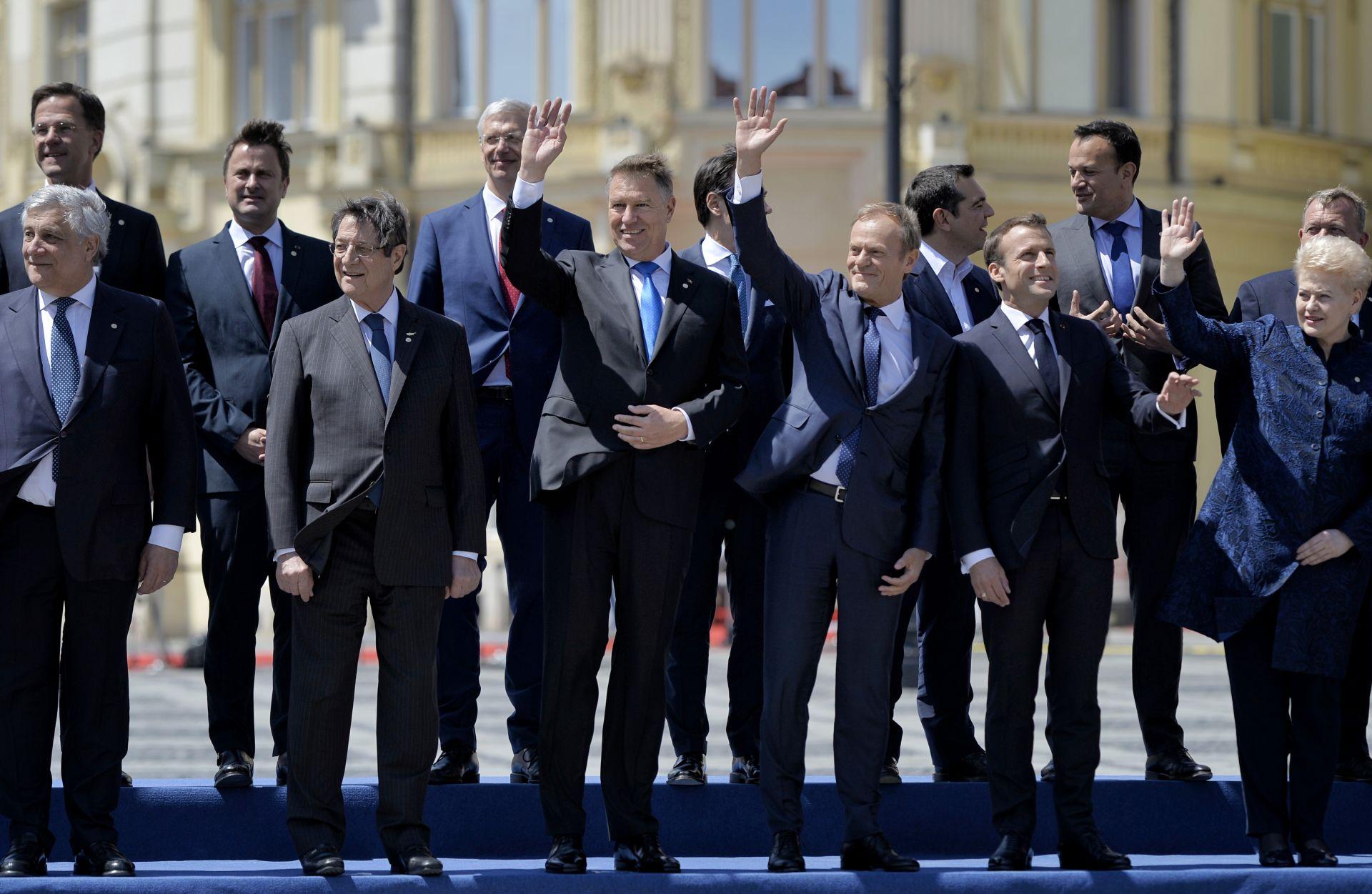 На срещата ще се дискутира бъдещето на 27-членния съюз