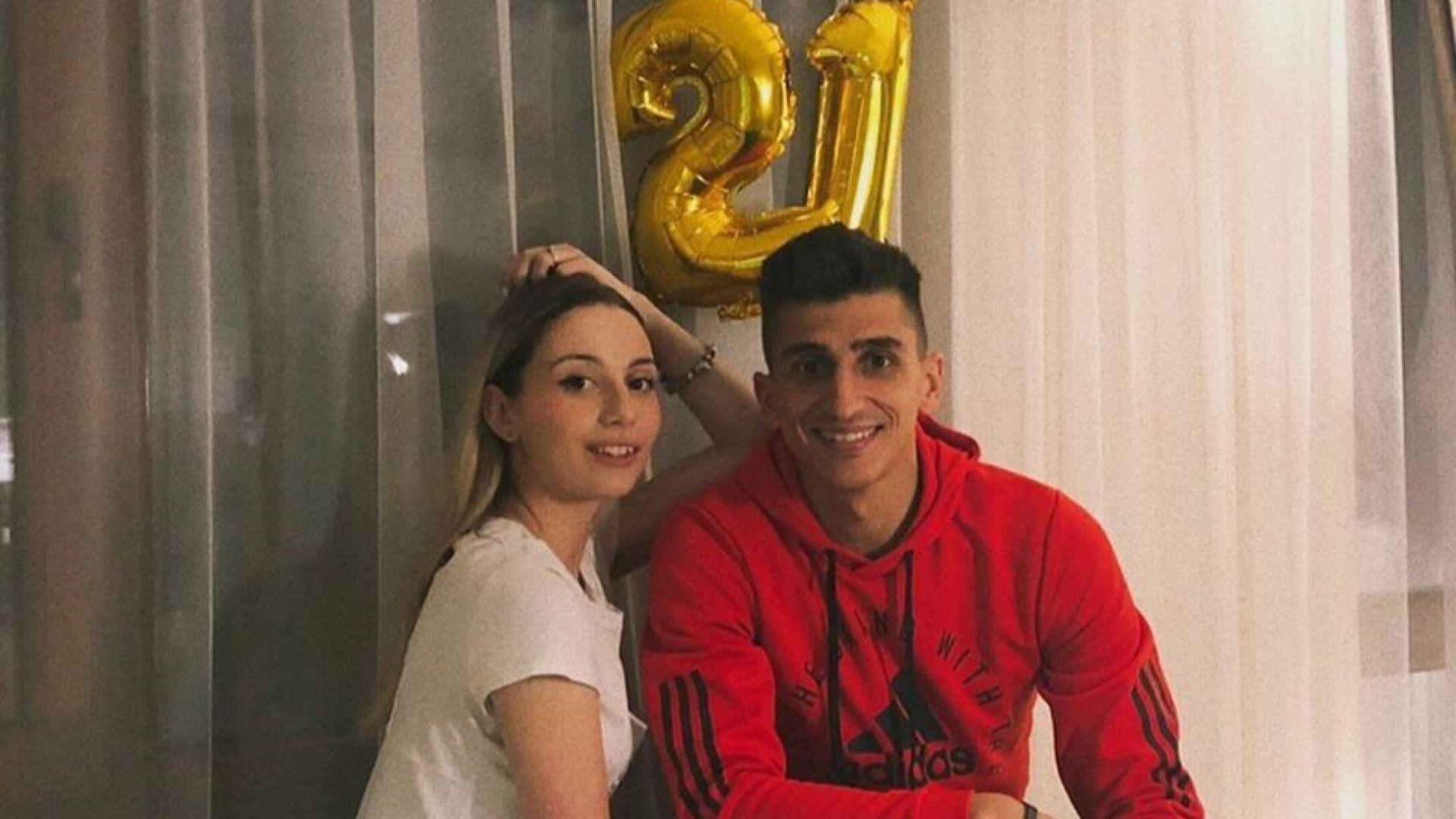Михаела Маринова отпразнува 21-ви рожден ден с любимия