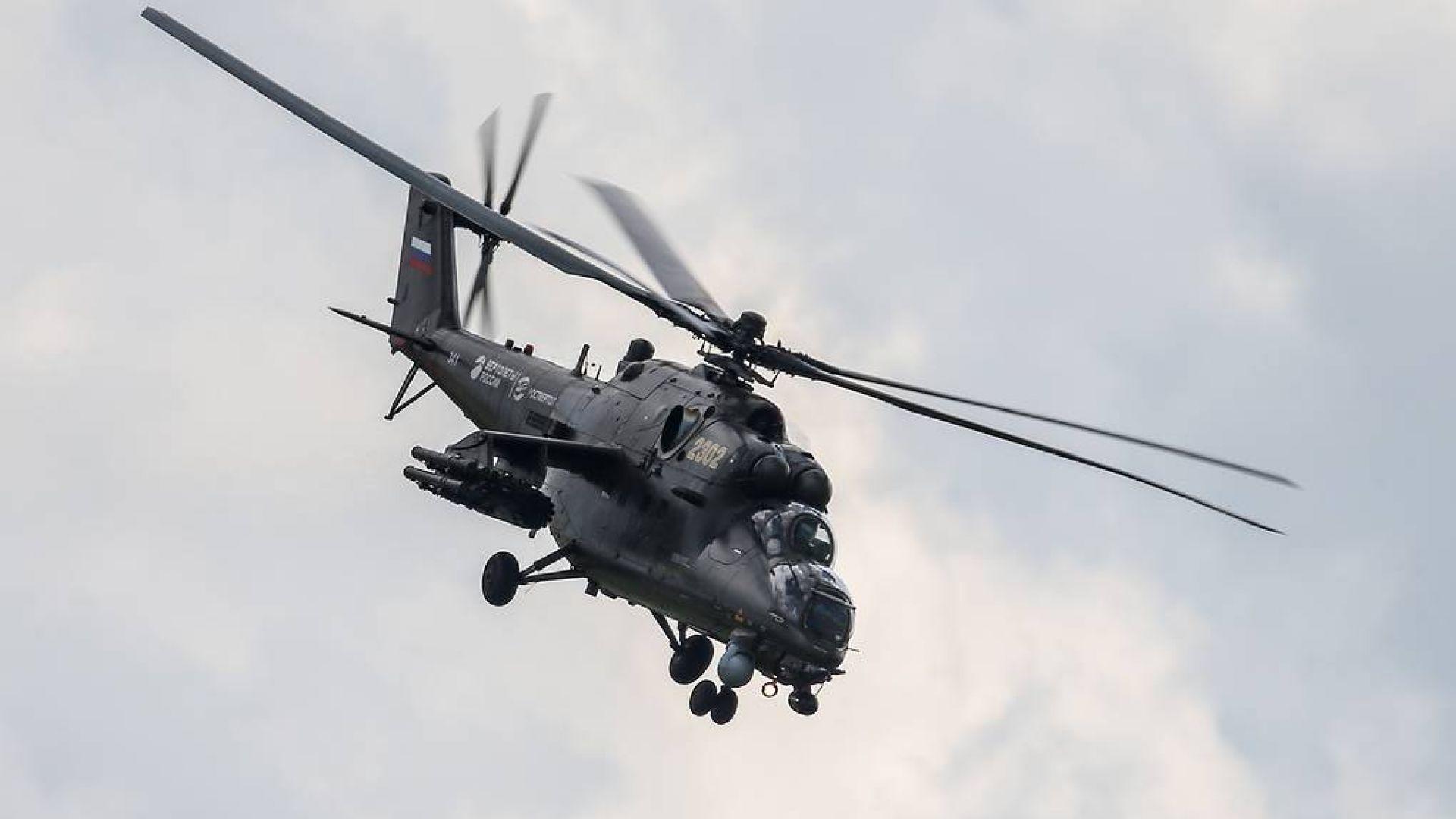 Руски хеликоптери Ми-35 и Ми-17 пристигат в Сърбия до края на годината