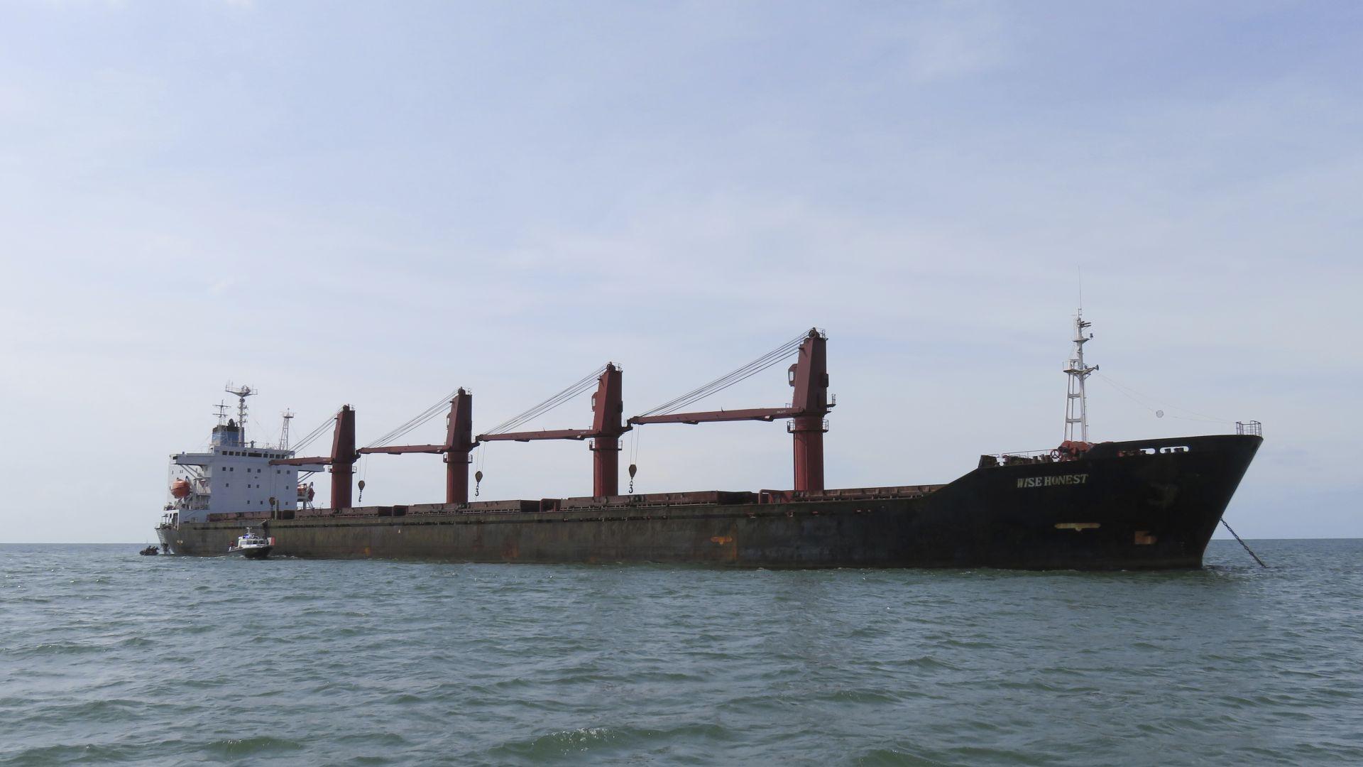 САЩ задържаха севернокорейски кораб, превозващ въглища