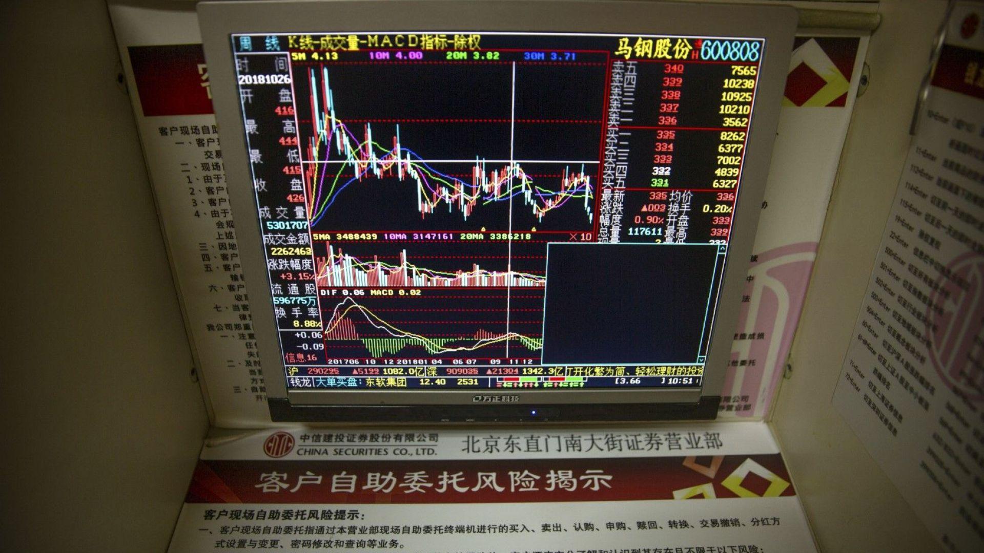 Китайската валута падна под ключовия праг от 7 юана за долар