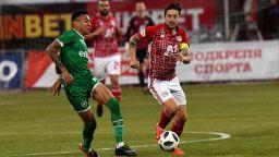 Битката за титлата: Лудогорец - Черно море 0:0, ЦСКА - Ботев 0:0 (на живо)