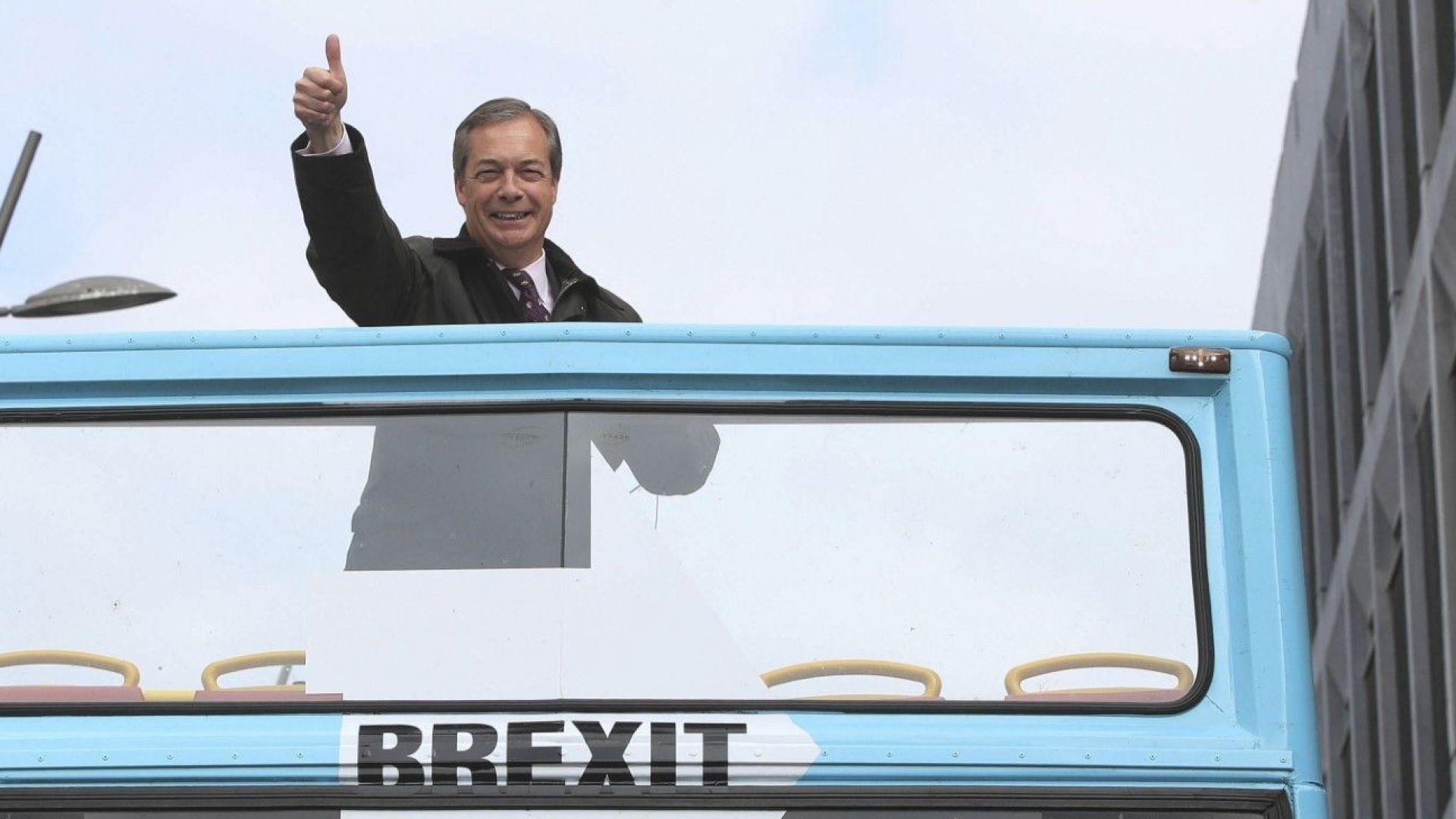 Партията на Брекзита не е първа в британския парламент