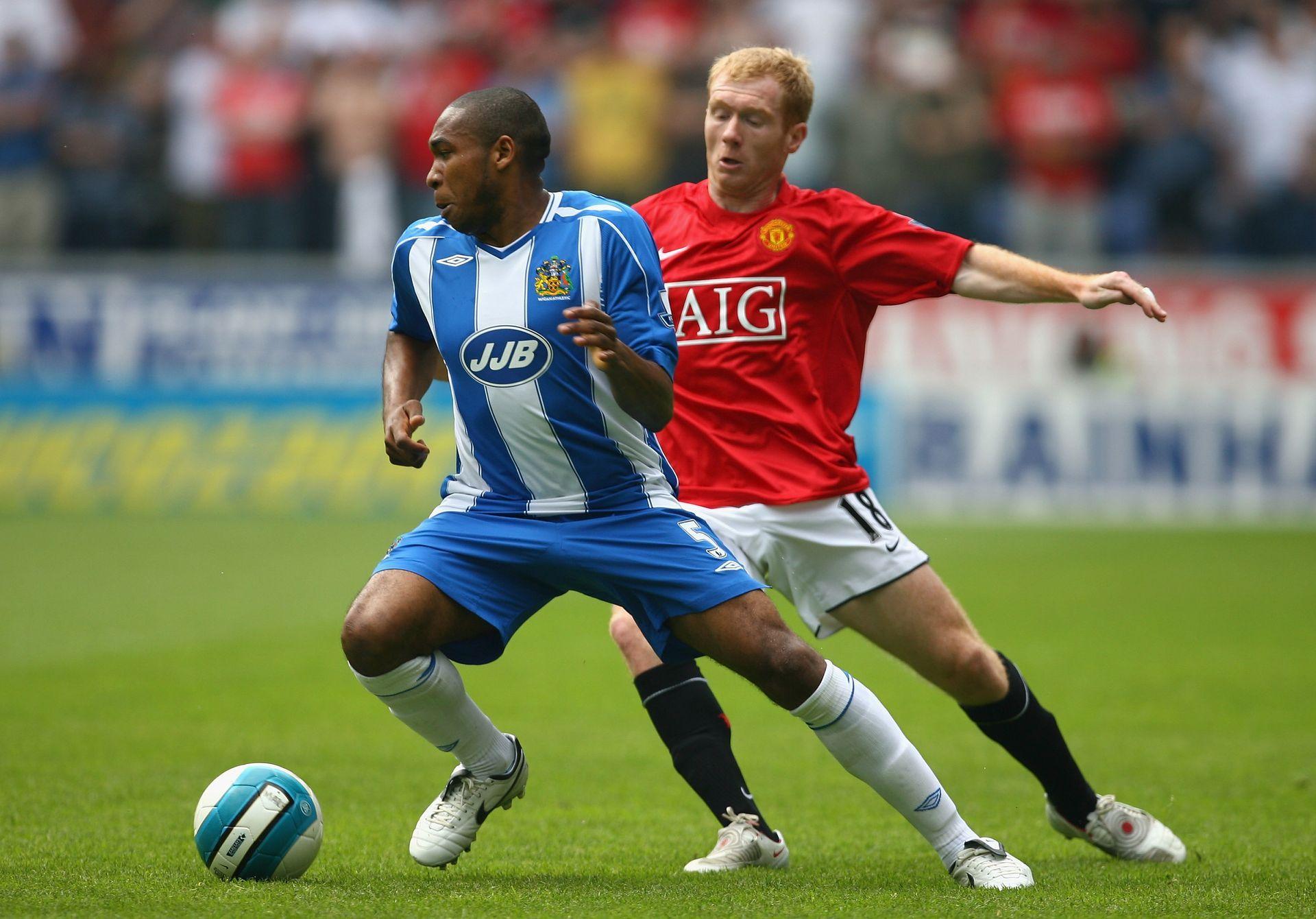2008 г. - Пол Скоулс и Юнайтед отидоха в Уигън с ясната мисъл, че победа ги правеше шампиони
