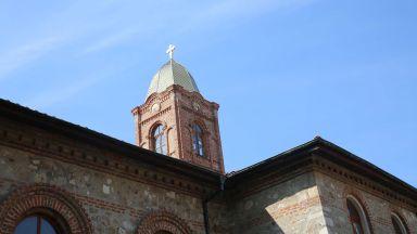 Осветиха новия купол на българската църква в Одрин (снимки)