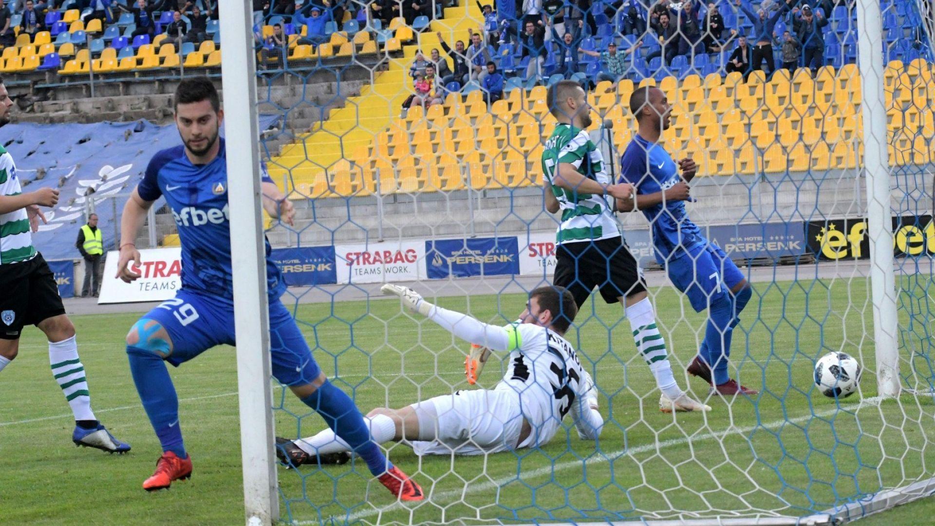 Левски задържа основния си голмайстор с нов договор за още 2 сезона