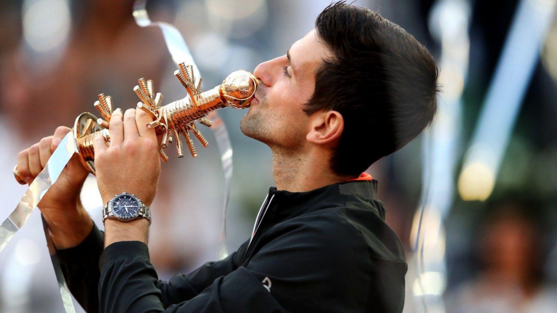 Джокович подчини Циципас за първи Мастърс през 2019-а
