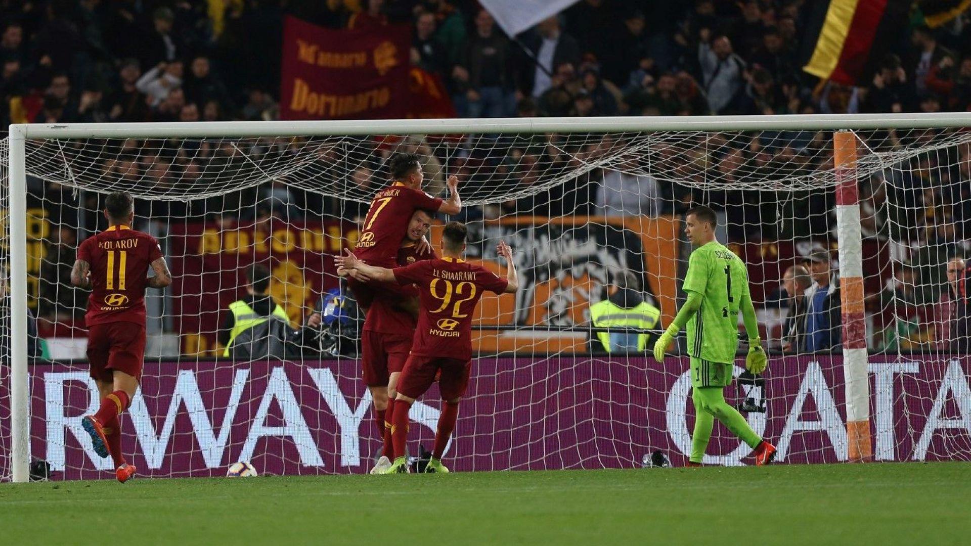 Рома тресна шампиона и продължава да мечтае за топ 4