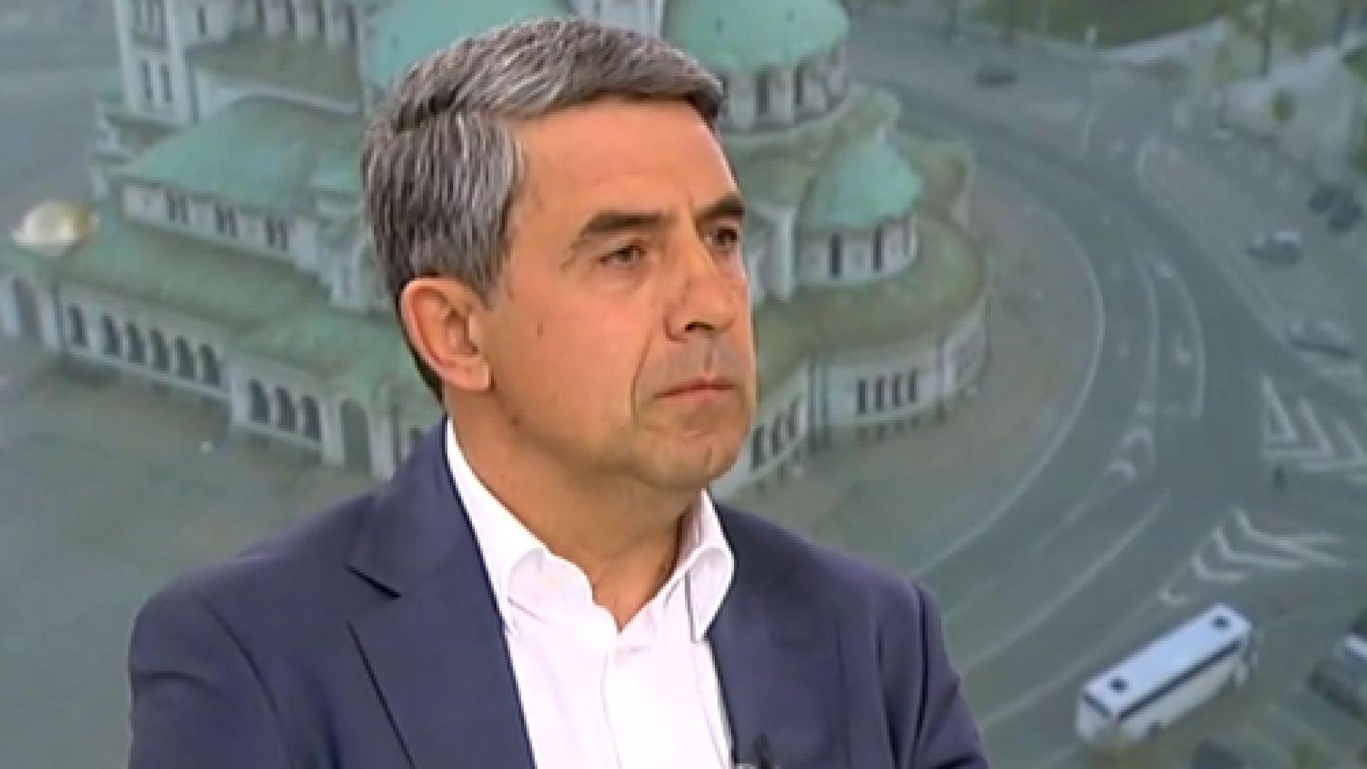 Плевнелиев: Радев се подигра на собствената си партия
