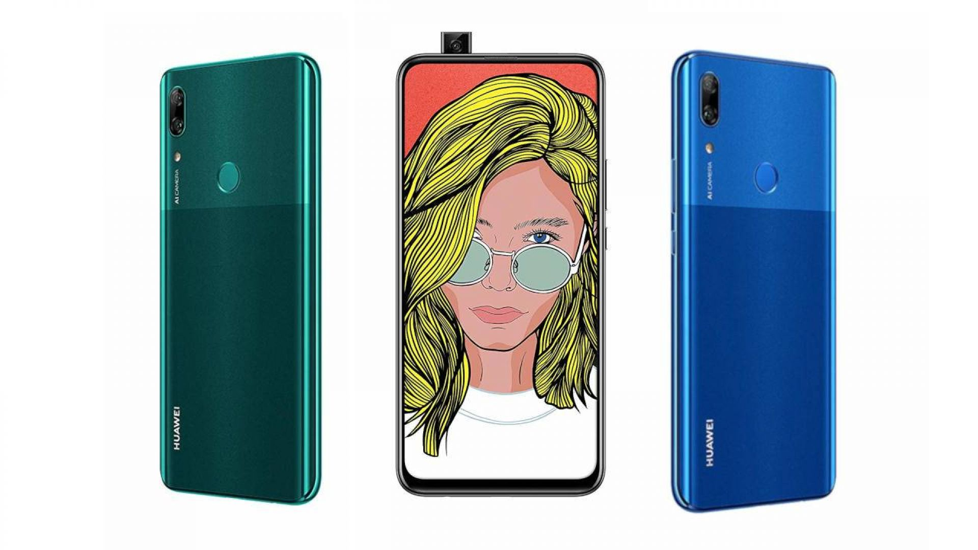 Huawei представи смартфон със скрита селфи камера