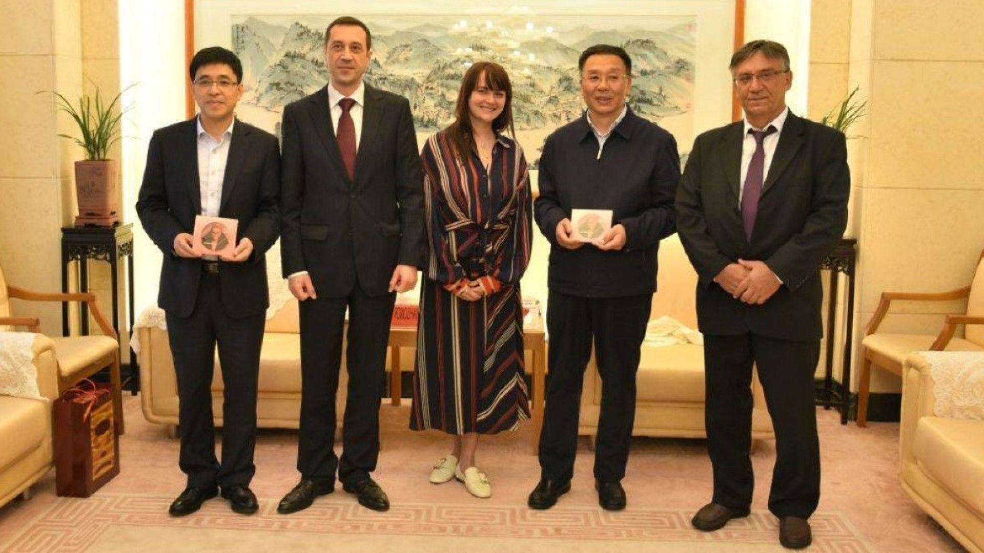 Рут Колева очарова китайски партньори като част от българската делегация