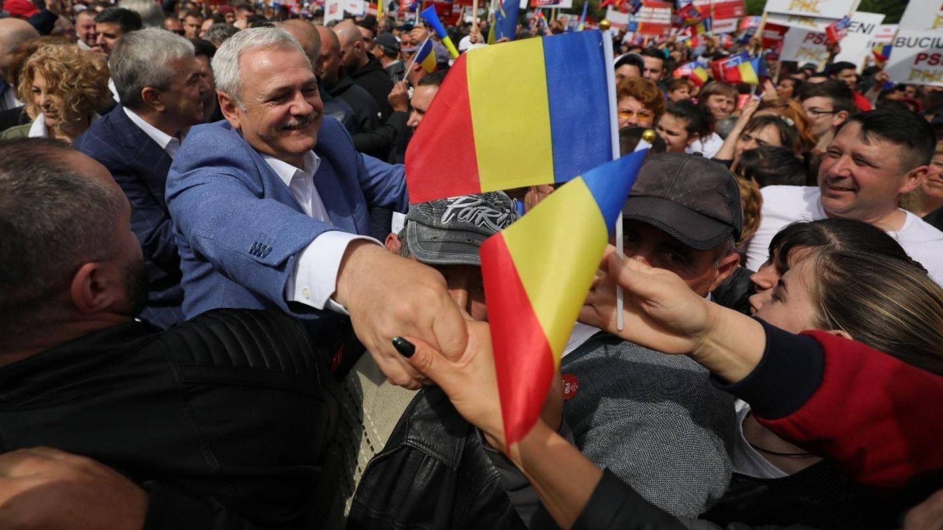 Тема №1 в Румъния - влизането на Ливиу Драгня в затвора