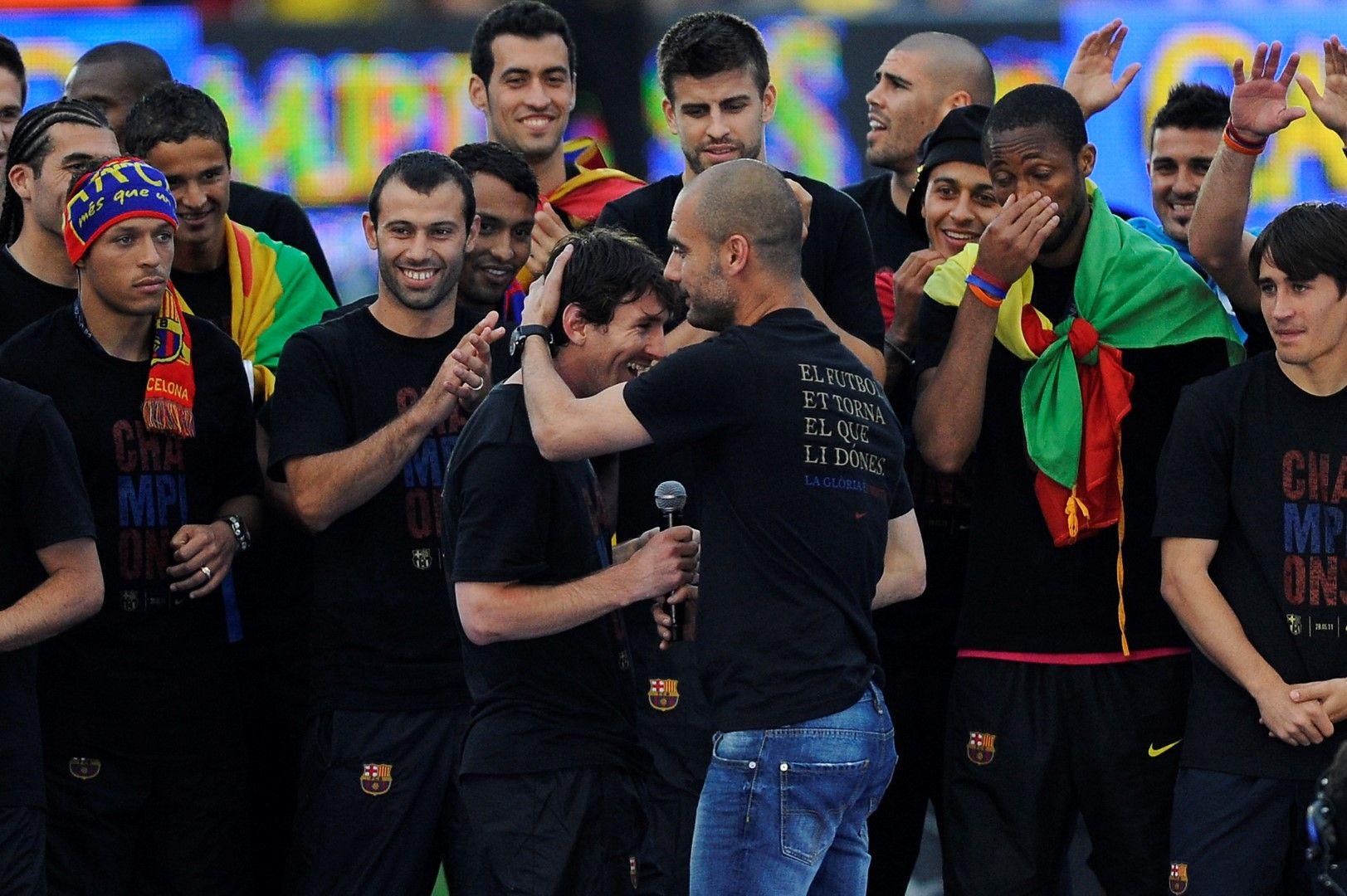 С Лео Меси, за чието развитие трябва да получи най-много аплодисменти