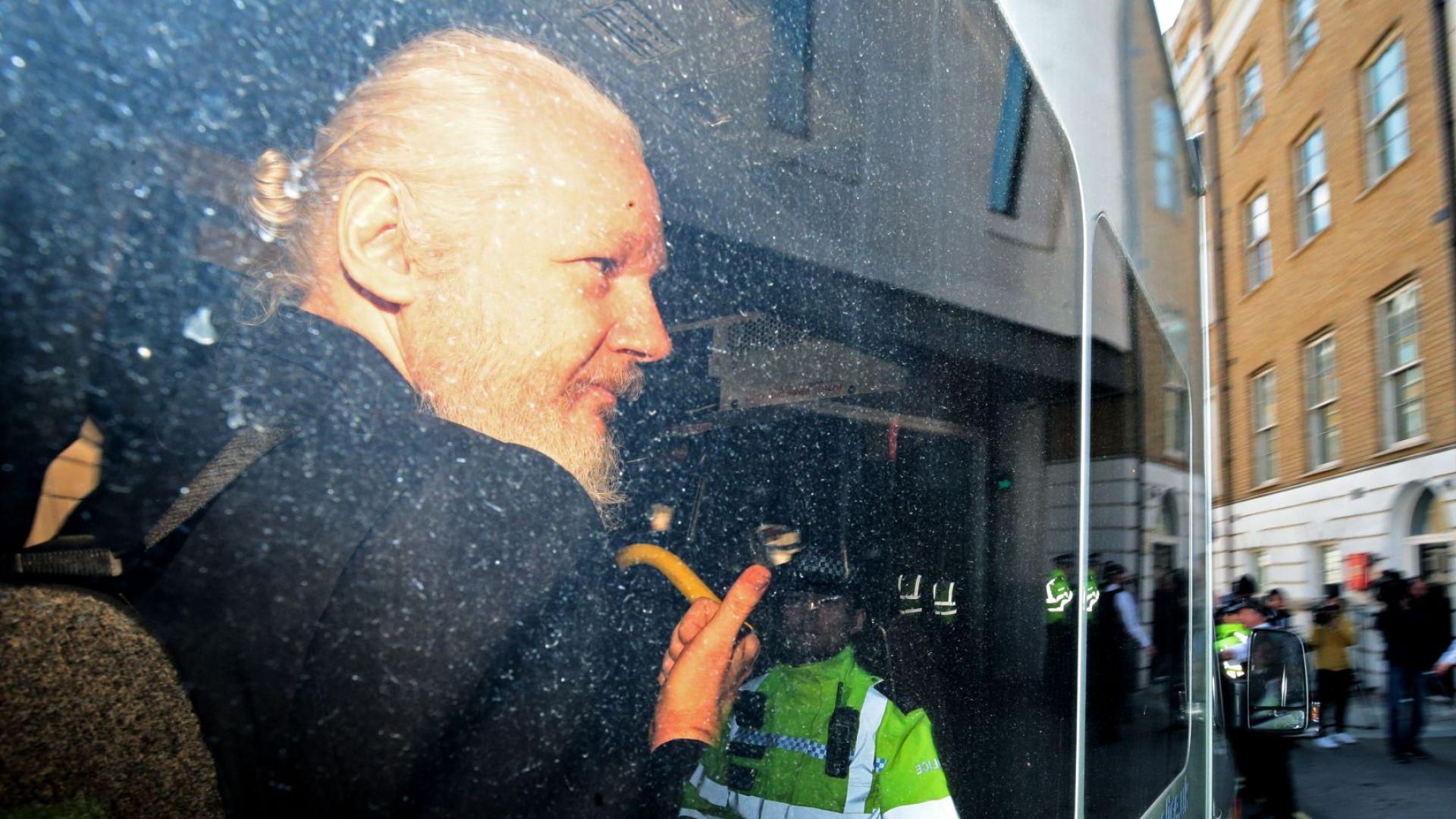 Лондон няма да предаде Асандж на страна със смъртно наказание