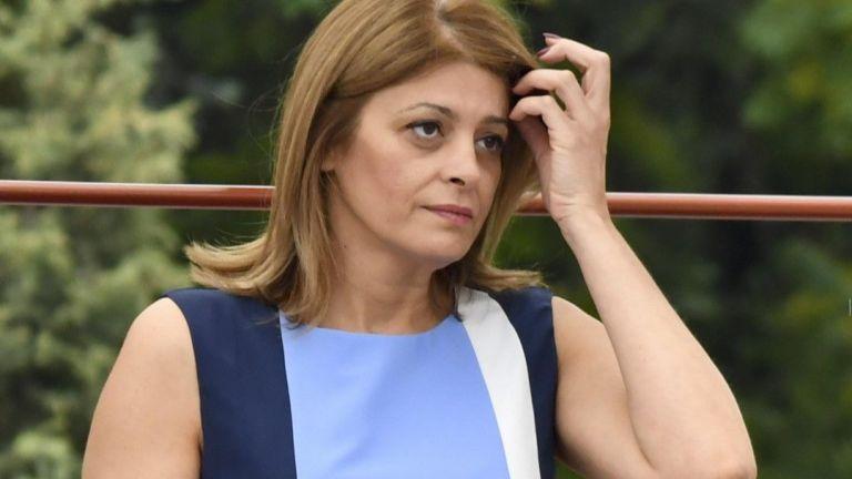 Съпругата на президента Румен Радев - Десислава Радева, е приета